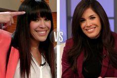 Cómo te gusta más Karla, ¿con o sin fleco?