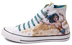 New CONVERSE Chuck Taylor All Star WONDER WOMAN Sneaker Mens/Womens