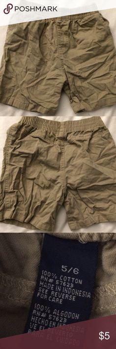 Khaki shorts Size 5/6 Bottoms Shorts