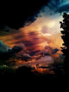 Clouds colors