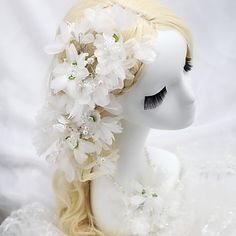 Amazing+Imitation+Pearls+Wedding/Special+Occasion+Flowers+With+Necklace+–+USD+$+9.99