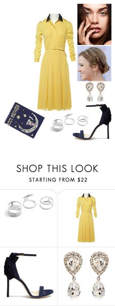 """TPT: LLL"" by tynabrookler ❤ liked on Polyvore featuring GUESS, Gucci, Jimmy Choo, Dolce&Gabbana and MUA MUA"