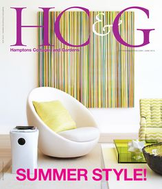 HC&G June 2015 cover featuring Decorator Timothy Whealon. #HC&G