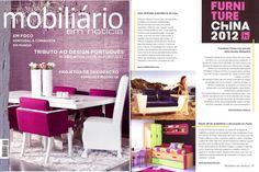 INSIDHERLAND | Between Waves sofa at Mobiliario em Notícia Magazine. Portugal. August 2012 #INSIDHERLAND #press #portugal #mobiliarioemnoticia #magazine #betweenwaves #sofa
