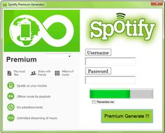 Download Spotify Premium Code Generator android ios on the web no survey 2015 If you are looking for a premium account no cost spofity? ... http://playonline.website/free-spotify-premium-code-generator/ #Spotify #Premium