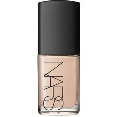 NARS Sheer Glow Foundation ($42) ❤ liked on Polyvore featuring beauty products, makeup, face makeup, foundation, beauty, fillers, nude and nars cosmetics