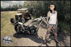 Femke Fatale for Thunderbike IV (2012) by Pixeleye Interactive // Dirk Behlau, via Flickr