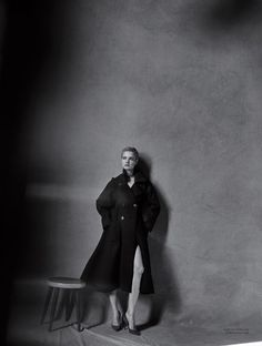 Natalia Vodianova is captured by Peter Lindbergh for Dior Magazine 10. Styled by Jacob K. Hair by Odile Gilbert. Make-up by Tom Pecheux.