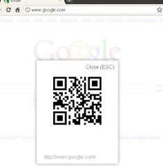 Using Chrome?  This is a handy little extension that creates QR Codes for the pages you find.  A fantastic tool for annotating articles and assignments!