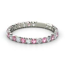 Someone please pass this on to tony p...diamond and pink tourmaline band.  My boy's birthstones.