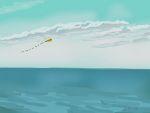 Danny Mooney 'Kite, 30/12/2014' iPad painting #APAD