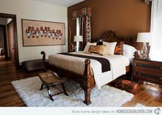 15 Awesome African Bedroom Decors | Home Design Lover