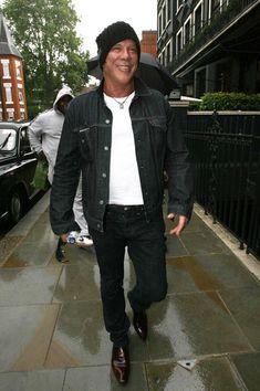 Mickey Rourke - MIckey Rourke in London
