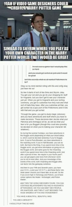 Harry Potter: Skyrim || Pinning again because I still want this to be a thing.