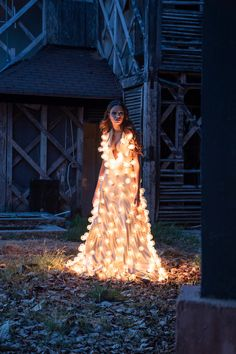 "Photographer Esteban Brocos dressed a model with 300 light bulbs (and more than 2,020 watts of power) and traveled through Panama to capture these striking photos.  ""Have you ever thought about who will be the last one in this planet to go out and turn off the lights? This is a journey through real places where premonitions have already come true and a light dress reminds us that we are slowly using up everything.   An arduous project, which took me a long time to prepare, from conceptua..."