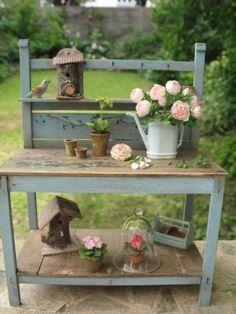 Flores e Plantas, artofmini.com, casa de bonecas, casa de bonecas, Puppenhaus, 01:12