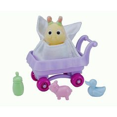 Zhu Zhu Babies - Riley by Cepia. $8.90. Comes with Carriage, Blanket and Three Accessories. Includes One Zhu Zhu Baby. For Ages 3 & Up. ZhuZhu Babies are taking over the Zhu-niverseTM one baby step at a time. Watch these adorable little tots roam around and play in their alluring playsets, which their ZhuZhu Nannies magically power all by themselves. Just like a good Mommy, you can pamper, swaddle, and cradle your ZhuZhu Baby, or watch as your ZhuZhu Nanny magically do...