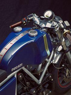 Ducati 900SS by Walt Siegl