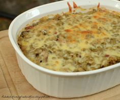 Family, Food, and Fun: Cheesy Bacon Lentils