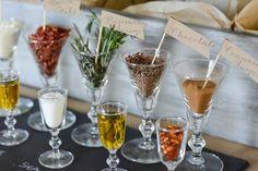Anders Ruff Custom Designs, LLC: Ruff Draft:  Popcorn Bar with Craft Paper Accents