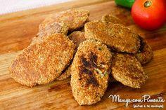 Nuggets de Couve-Flor {Receitas do Bem}, perfeito para quem está fazendo reeducação alimentar ou não come carne. Clique na imagem para ver a receita no blog Manga com Pimenta.