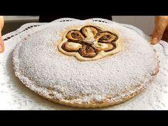 CROSTATA DOPPIA ALLA NUTELLA con cioccolato bianco 🍫 DOUBLE NUTELLA TART - YouTube Italian Cake, Nutella, Apple Pie, Kitchen Stuff, Dolce, Desserts, Food, Youtube, Beautiful