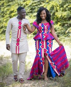 Trendy Kente Styles You Can Rock This Month - Sisi Couture African Fashion Designers, African Fashion Ankara, Latest African Fashion Dresses, African Print Dresses, African Print Fashion, Africa Fashion, African Dress, African Traditional Wedding Dress, African Fashion Traditional