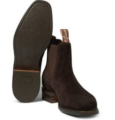 In 1932, R.M. Williams first created footwear that could handle the rough and tumble of the outback, but was also slick enough for town. These handsome Chelsea boots are still handcrafted in Australia from naturally resilient suede. Complete with Goodyear-welted® soles, they deliver lasting style and substance. Wear them with your favourite selvedge denim.