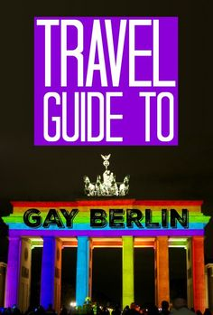 Pinterest gay travel guide to Berlin:
