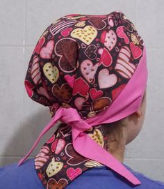 Bandanas, Scrub Hats, Head Wraps, Fabric Patterns, Scrubs, Fashion Backpack, Sewing Projects, Patches, Quilts