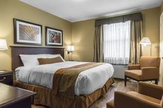 King size bed in our One Bedroom Cottage Spa Offers, Luxury Accommodation, One Bedroom, Resort Spa, King Size, Cottage, Golf, Inspiration, Furniture