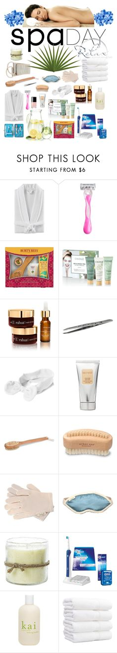 """""""Untitled #884"""" by jayne3944 ❤ liked on Polyvore featuring beauty, Kassatex, Schick, Burt's Bees, Caudalíe, RAHUA, Rubis, Chanel, Laura Mercier and Urban Spa"""