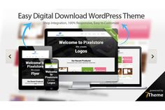 Pixelstore - Easy Digital Download by 7Theme on Creative Market