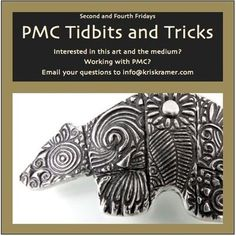 Textures Textures Textures How will they look in silver? PMC Tidbits & Tricks by Kris Kramer