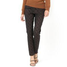 Compre Calças cigarette Soft Grey La Redoute na La Redoute. O melhor da moda online.