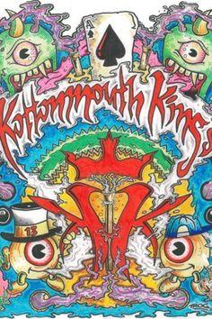 Kottonmouth Kings. <3 (: Weird Art, Strange Art, King Drawing, Cartoon N, Insane Clown Posse, King Art, Metal Mulisha, Music Wallpaper, Music Love