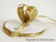 Ribbon - Gold - Metallic Ribbon