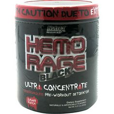 Nutrex Hemo-Rage Black Ultra-Concentrate #ChampionSupplements