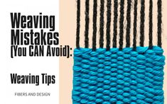 10 Mistakes New Frame Loom Weavers Make: uneven edges, loose warp tension and more! - Fibers and Design Weaving Loom Diy, Weaving Art, Weaving Patterns, Crochet Patterns, Crochet Carpet, Weaving Projects, Metal Pins, Weaving Techniques, Mistakes