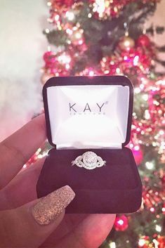 Engagement Rings Inspiration : 18 Most Striking Kay Jewelers Engagement Rings ❤ See more: www. Big Wedding Rings, Wedding Ring Styles, Beautiful Wedding Rings, Wedding Rings Solitaire, Wedding Jewelry, Wedding Bands, Dream Wedding, Wedding Ideas, Kay Jewelers Engagement Rings