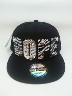 custom fashion zebra DOPE snapback cap hat by JamesNchie on Etsy, $29.99