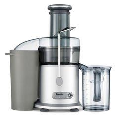 The Breville Juice Fountain Plus | Sur La Table http://juicerblendercenter.com/specific-health-benefits-of-juiced-produce/