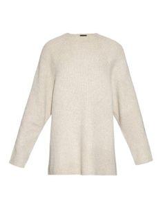 Kandel cashmere ribbed-knit sweater  | The Row | MATCHESFASHION.COM UK