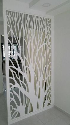 Amazing design of the partition beautiful space - Homemidi Living Room Partition Design, Room Partition Designs, Room Door Design, Home Design Decor, Home Decor, Living Room Designs, Living Room Decor, Interior Decorating, Interior Design