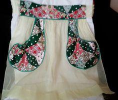 Tobe' New York Half Apron Outerwear Clothing by frankiesfrontdoor, $10.00