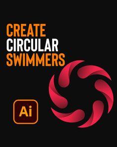Illustrator Tutorials, Adobe Illustrator, Flat Illustration, Company Logo, Logos, Learning, Create, Movie Posters, Photoshop