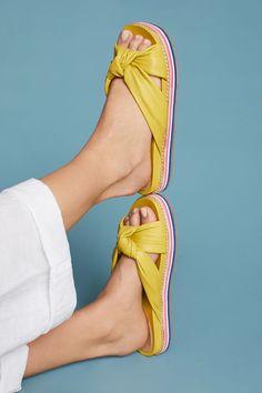 Slide View: 1: Bill Blass Padget Knot Sandal Slides