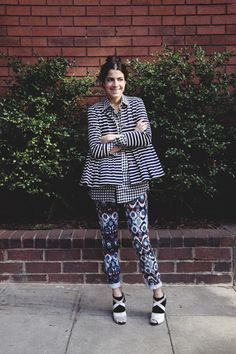 the man repeller (who is actually engaged), always proves that there can never be **too much** going on. i wish i could pull off some of the stuff she does