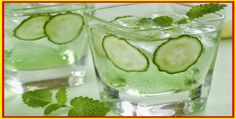 Mix Cucumber and Mint and Create Powerful Fat-Melting Drink
