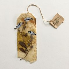 Ruby Silvious, an artist from New York, works miniatures on used tea bags. Tea Bag Art, Tea Art, Rembrandt, Coffee Filter Art, Planner Doodles, Used Tea Bags, Bag Illustration, Fabric Journals, Mini Paintings